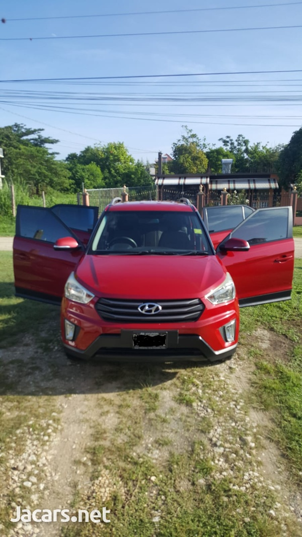 Hyundai Creta 1,6L 2016-2