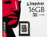 Kingston MicroSD Memory Card 16GB