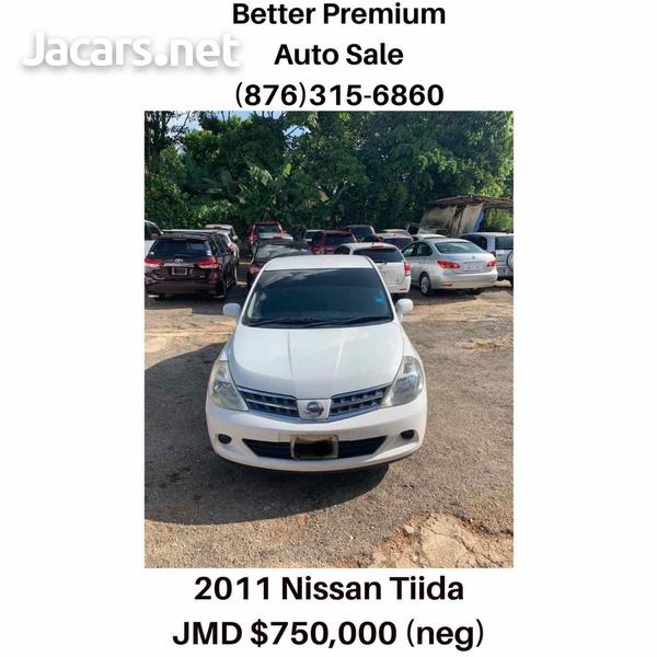 Nissan Tiida 1,6L 2011-3