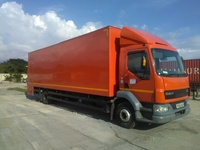 DAF LF 55 Box truck with contracts