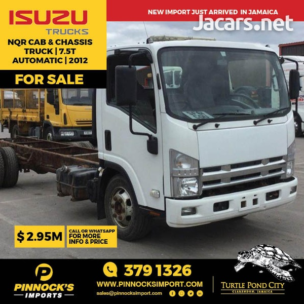 Isuzu NQR Cab and Chassis Truck 7.5T 2012-1