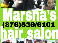 Marsha's hair salon