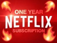 Netflix Unlimited- 12 months subscription