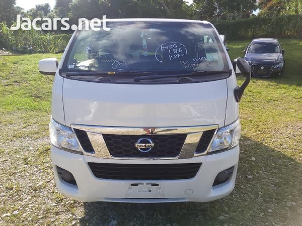 White 2013 Nissan Caravan-2