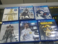 playstation 4 game cds