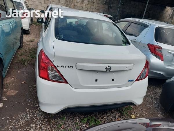 Nissan Latio 1,5L 2016-4