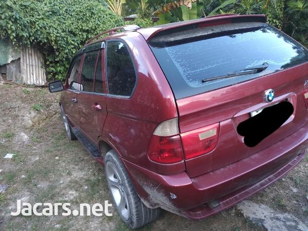 BMW X5 3,0L 2001-2