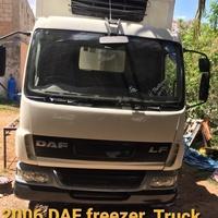 2006 DAF freezer truck