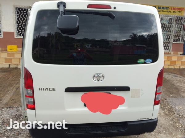 2012 Toyota HIACE contact- 876 817-2035 or 876 494-4436-2