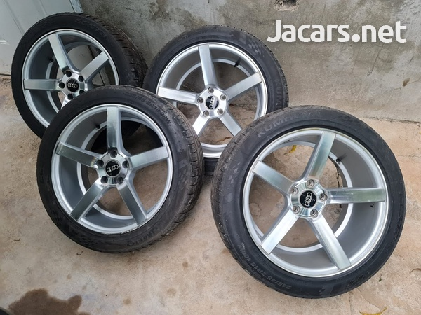 Rims and Tyres for Audi or Benz call 384-7546-2