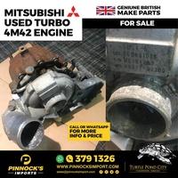 MITSUBISHI USED TURBO 4M42 ENGINE