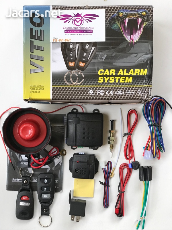 Vehicle Security Alarm System-1