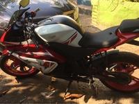 2019 red Supra Bike