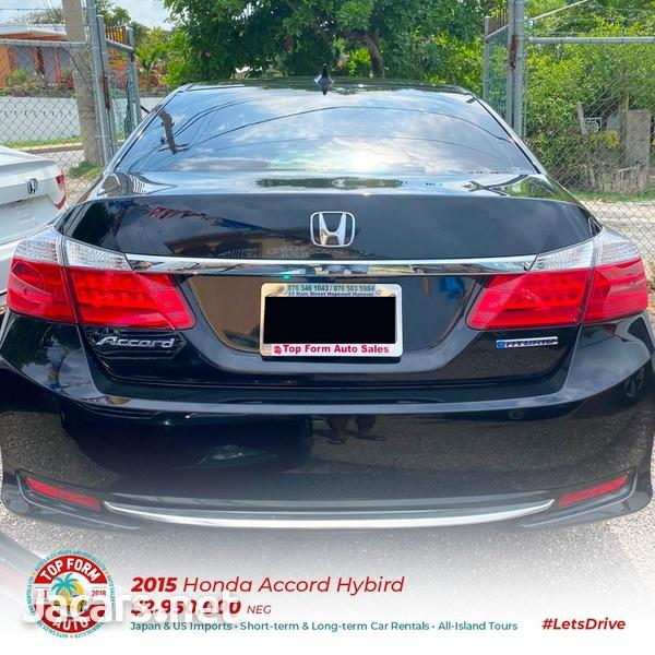 Honda Accord 2,0L 2015-11