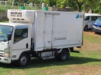 2015 ISUZU ELF FREEZER TRUCK