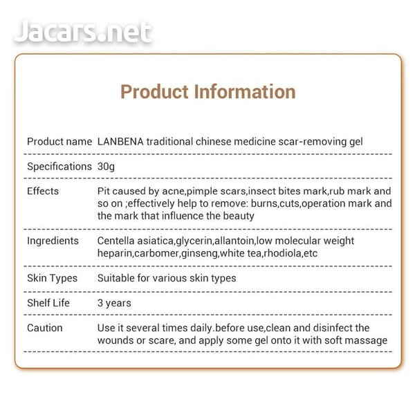 LanBeNa Scar Removal Cream/Gel For Acne Treatment Stretch Mark Cut Burn Spot-6