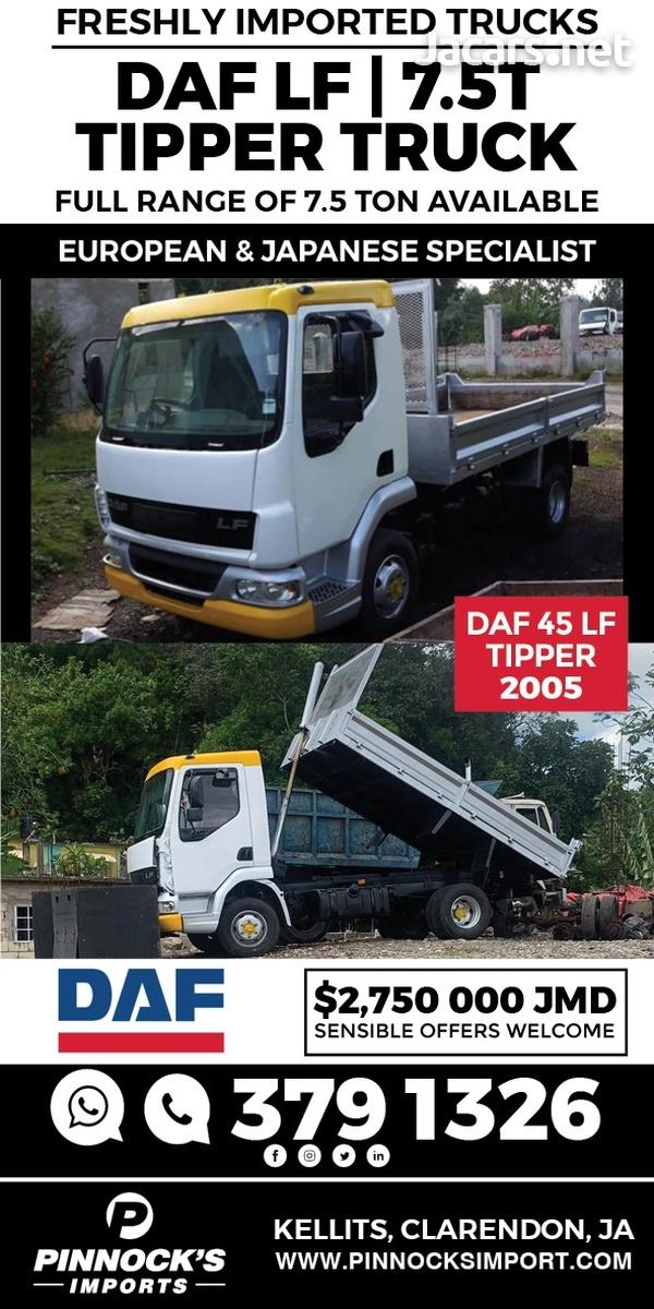 DAF 45LF Tipper Truck 2005-1