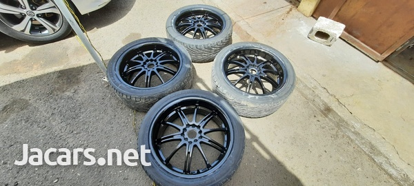 18 inch rims and tyres 245/40/18-1