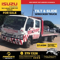 2008 Isuzu Tilt And Slide Wrecker 7.5t Truck