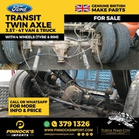 FORD TRANSIT AXLE FRONT AND BACK