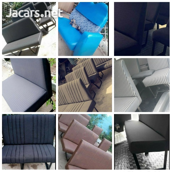 BUS SEATS WITH STYLE AND CONFORT.LOOK NO FURTHER.CONTACT 8762921460