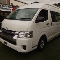 2016 Toyota Hiace Commuter