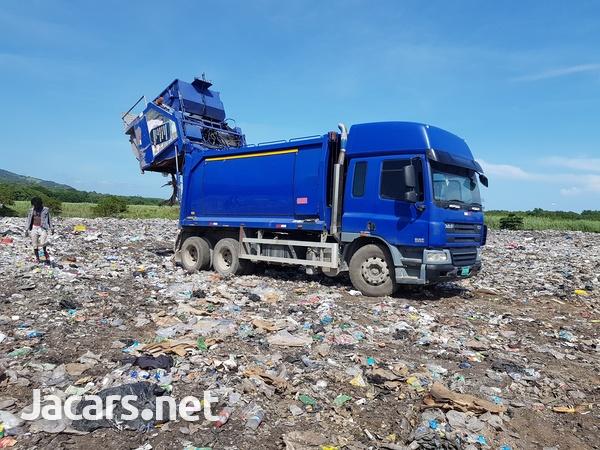 2008 DAF CF 75/250 Garbage Dump Truck-2