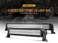 LED CAR LIGHTS AUX BEAM 5D LED LIGHT BARS