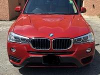 BMW X3 2,0L 2016