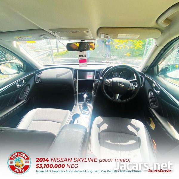 Nissan Skyline 2,0L 2014-5