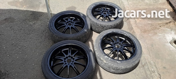 18 inch rims and tyres 245/40/18-3