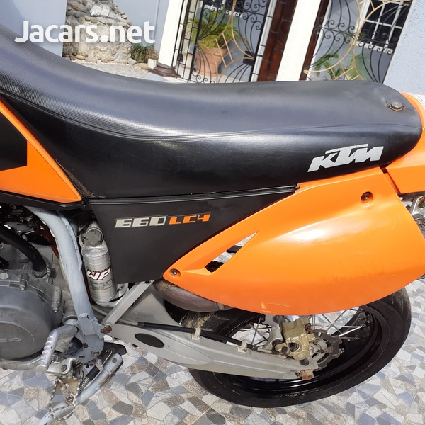 ktm supermotor 2005 660-7
