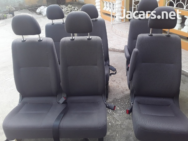 ONE SET OF TOTOTA HIACE SEATS WITH HEAD REST.