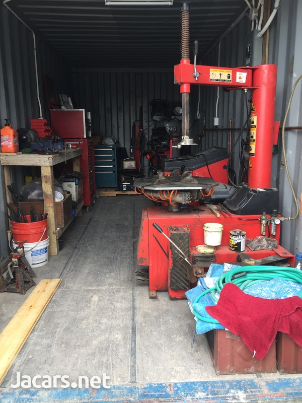 20ft Container garage-6