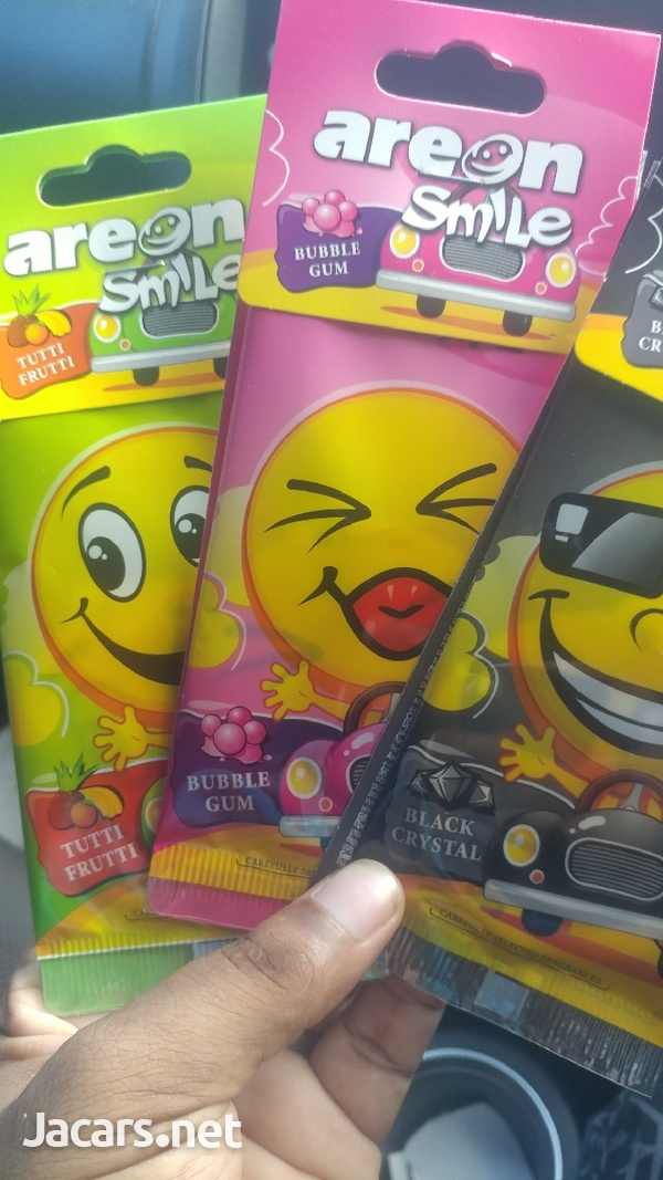 3 Pack Car Smile Air Freshener