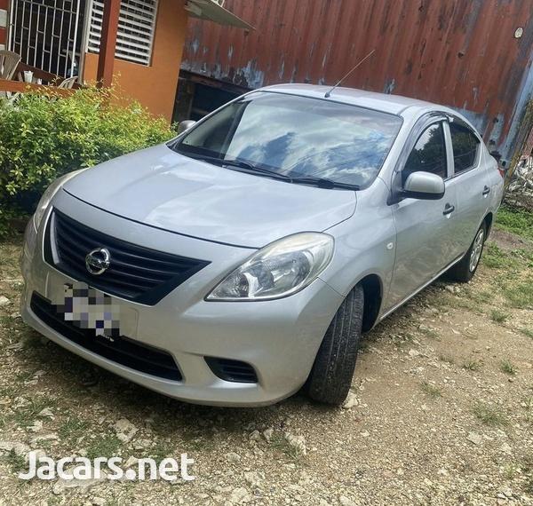 Nissan Latio 1,5L 2014-1