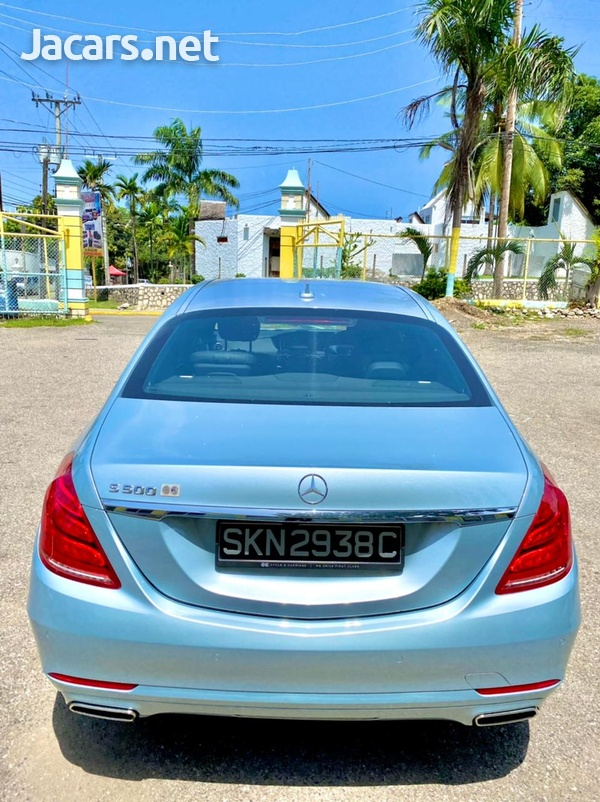 Mercedes-Benz S-Class 5,0L 2014-2