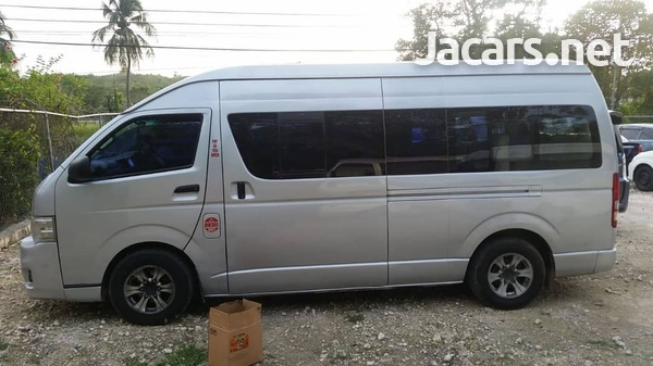 2011 Toyota Hiace Commuter Bus-4