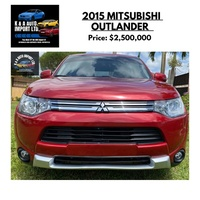 Mitsubishi Outlander or Airtrek 2,5L 2015