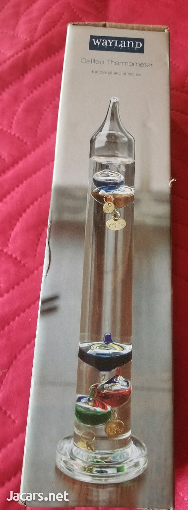 Galileo Thermometer Functional and Attractive-3