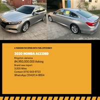 Honda Accord 1,5L 2020