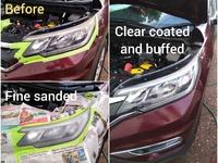 2 years lasting vehicle head lamp treatment service