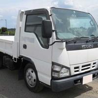 Used Isuzu Elf Manual 4,8L Dump Truck