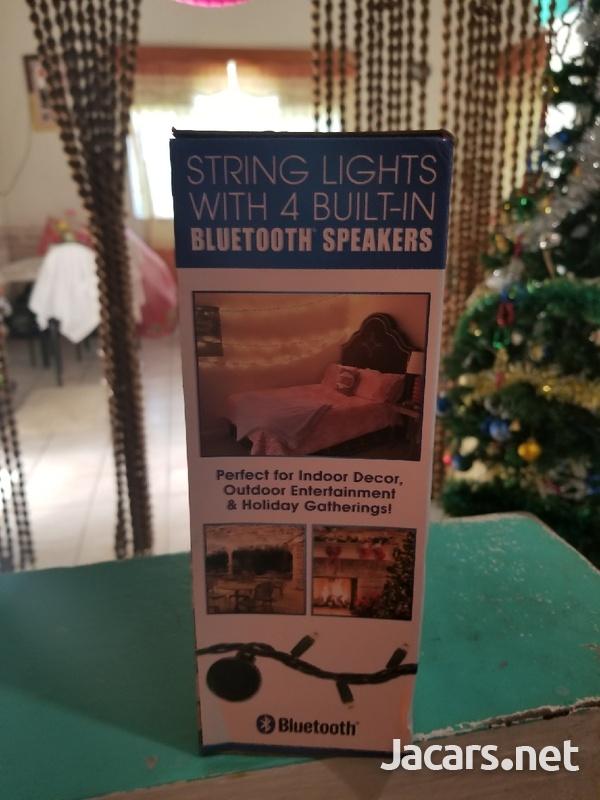 Bluetooth speaker with light-3