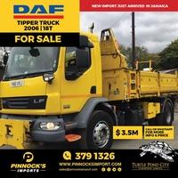 DAF Tipper Truck 2006 18T