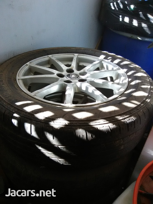 4x17 inch rims fits Land Rover-3
