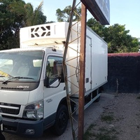 2011 Mitsubishi Canter Box Body Truck
