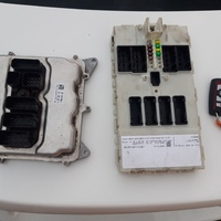 2015 bmw f30 engine computer, ECU and key...