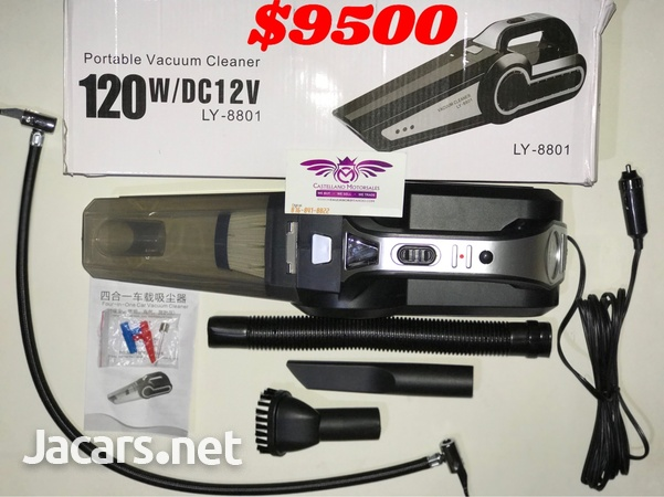 4 in 1 Portable Car Vacuum and Tyre Pump-1