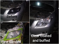 2 years lasting head lamp restoration service